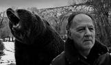 Werner Herzog with Bear